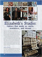Elizabeth's Studio: fabrics that make us smile, reminisce, and dream