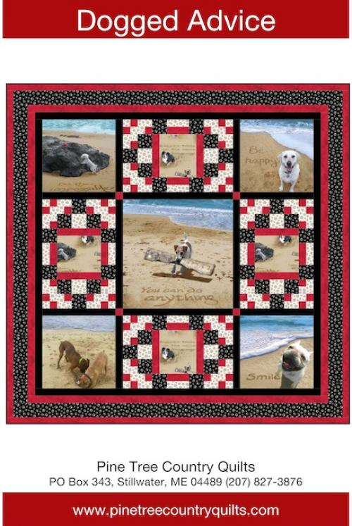 Dogged Advice by Pine Tree Country Quilts