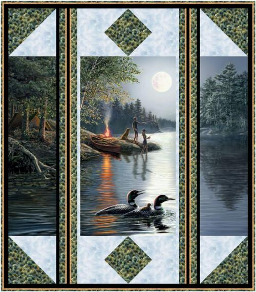 Window on Nature by Pine Tree Country Quilts