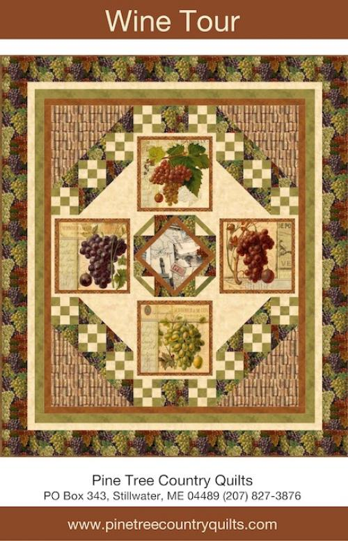 Wine Tour by Pine Tree Country Quilts
