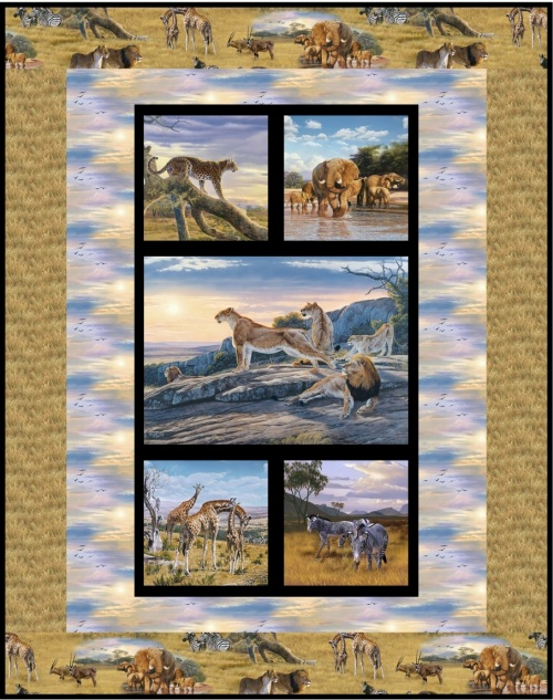 African Animals by Deborah Stanley