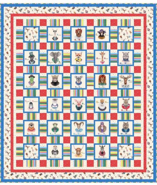 Alphabet Weave by Pine Tree Country Quilts