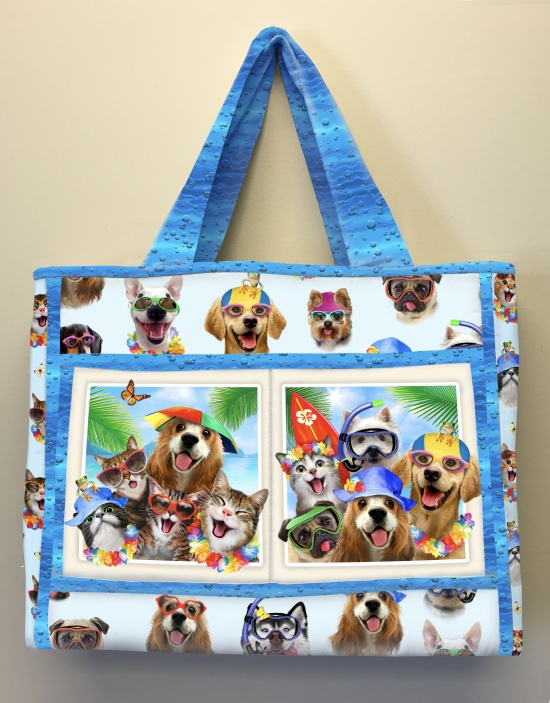 Beach Selfies Bag by Deborah G. Stanley