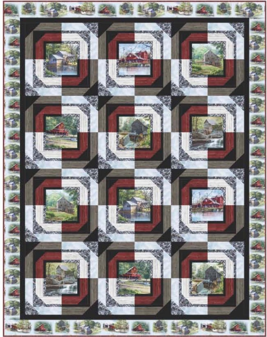 Building Blocks by Pine Tree Country Quilts