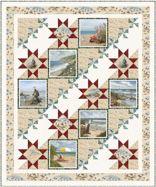 Coastal Stars by Pine Tree Country Quilts