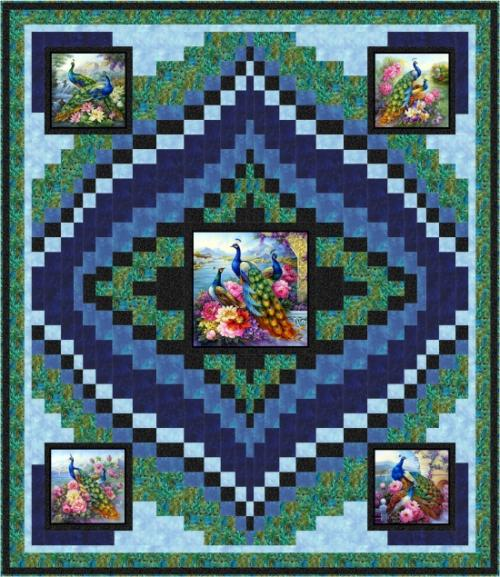 Exotic Medallion by Pine Tree Country Quilts