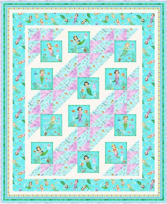 Ocean Play Dates by Pine Tree Country Quilts