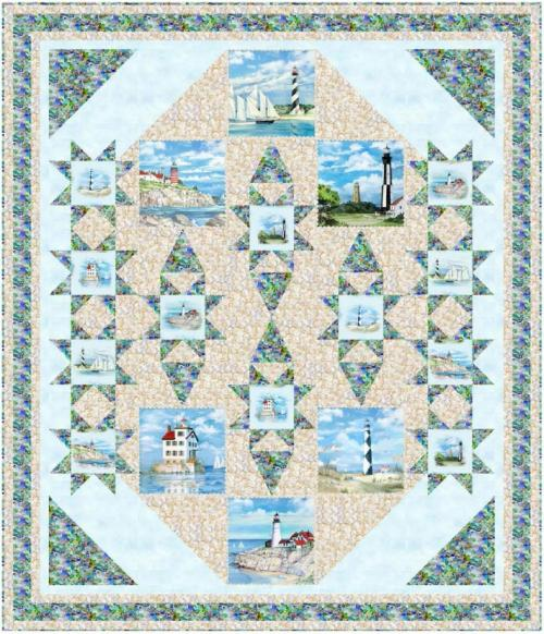Seaside Sentinels by Pine Tree Country Quilts