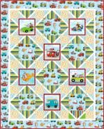 Zoom Zoom by Pine Tree Country Quilts