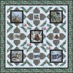 Woodland Warmth - Wallhanging by Pine Tree Country Quilts
