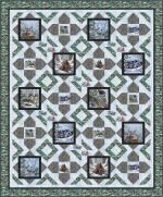 Woodland Warmth - Throw by Pine Tree Country Quilts