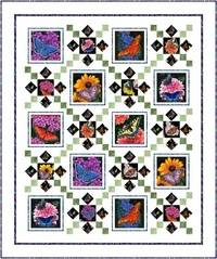 Butterfly Garden by Pine Tree Country Quilts