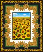 Framed Sunshine by Pine Tree Country Quilts