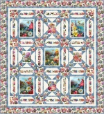 Hummingbird Stars by Pine Tree Country Quilts