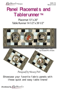 Panel Placemats and Tablerunner by Nancy Dill