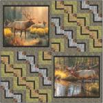 Wildlife Trails - Wall by Pine Tree Country Quilts