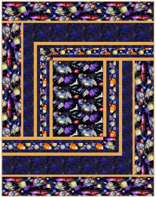 Warp Speed by Pine Tree Country Quilts